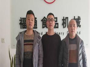 江西赣州明老板订购烧电豆巴机