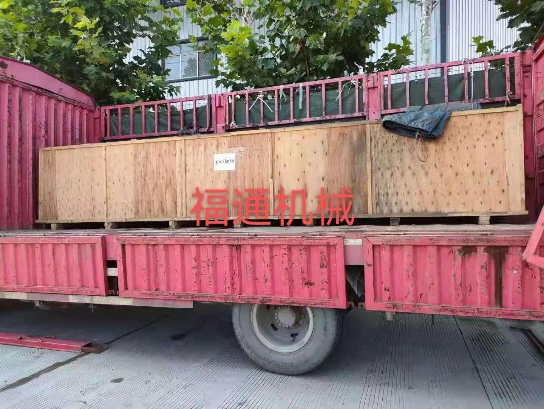 全自动豆巴机生产线出口国外