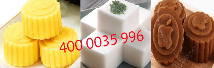 印花冰豆糕